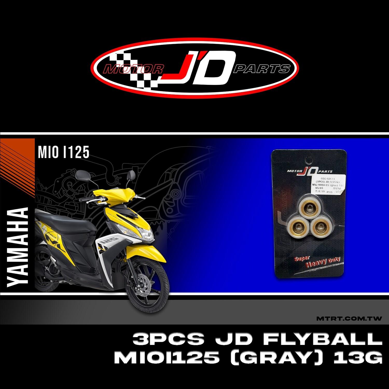 JD FLYBALL (3PCS) MXi MIOi125 (gray) 13G