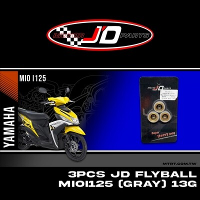 JD FLYBALL (3PCS) MXi MIOi125 (gray) 13G