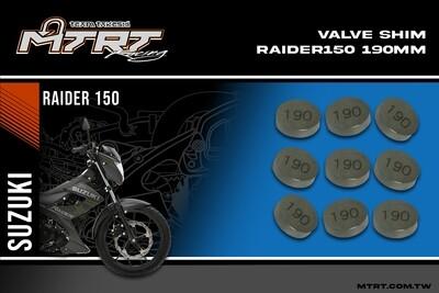 VALVE SHIM RAIDER150CBR MTRT 190mm M-Op1