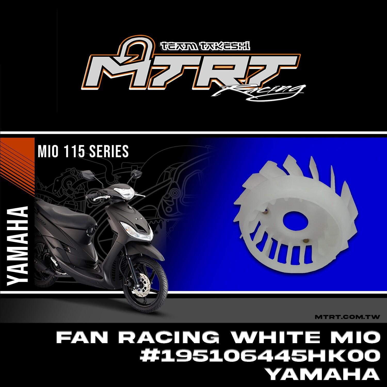 RACING FAN WHITE MIO YAMAHA