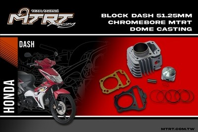 BLOCK DASH 51.25MM Chromebore MTRT Dome casting