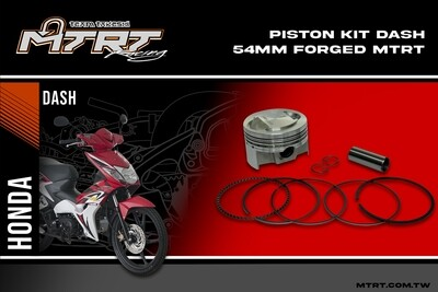 PISTON  KIT DASH 54MM Forged MTRT