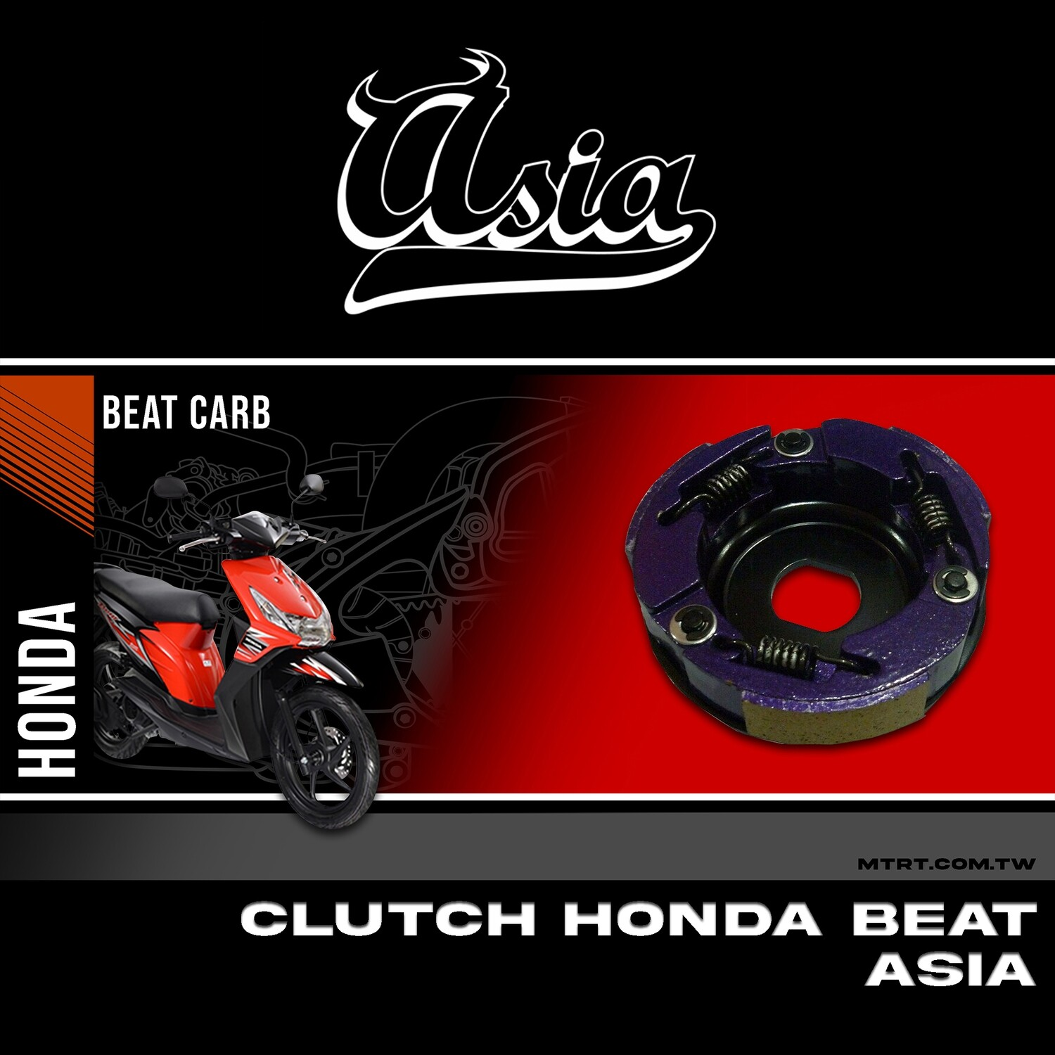 CLUTCH HONDA BEAT ASIA Main