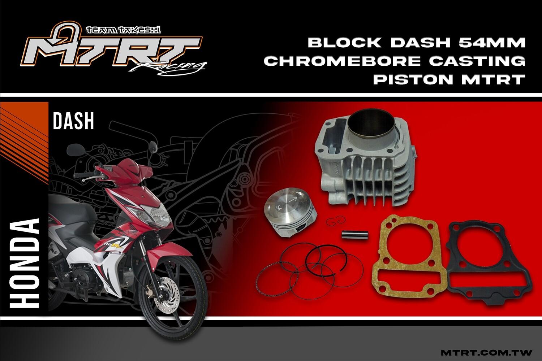BLOCK DASH 54MM Chromebore Casting piston MTRT