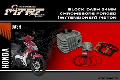 54MM DASH110 Chromebore Block with Forged piston and tensioner MTRT