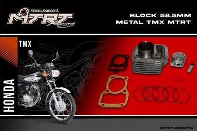 BLOCK  58.5MM  METAL  TMX155  MTRT