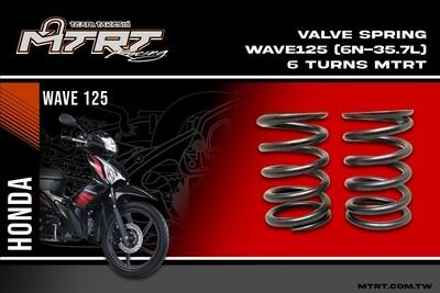 VALVE SPRING WAVE125 (6N-35.7L) 6turns MTRT