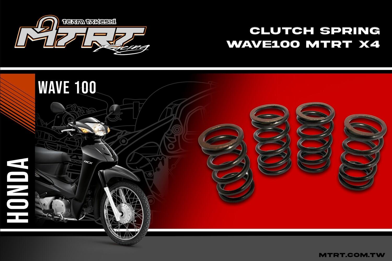 CLUTCH SPRING WAVE100/110/XRM110  MTRT x4