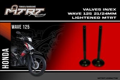VALVES  INEX WAVE125  2124MM lightened MTRT