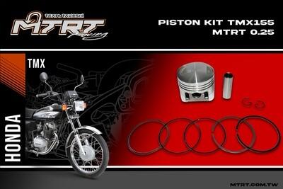 PISTON KIT TMX155 MTRT 0.25