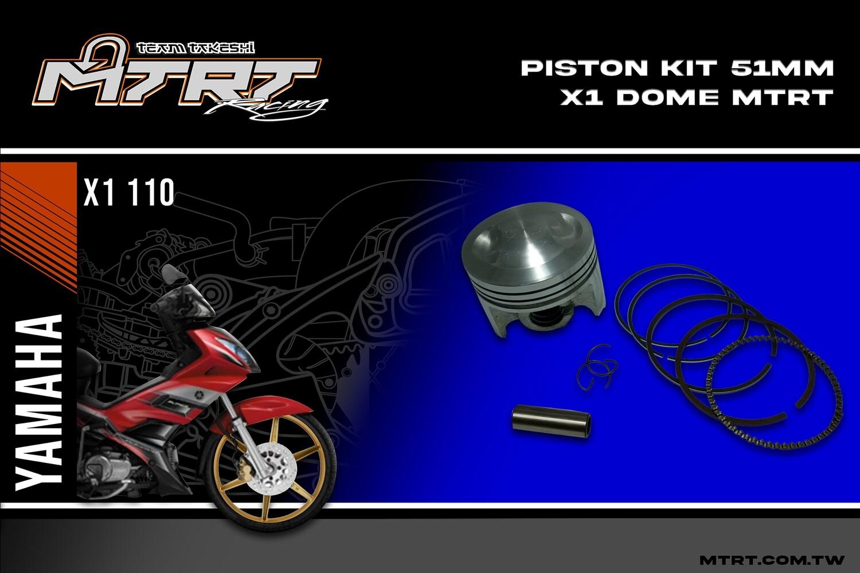 PISTON KIT 51MM X1XRM dome  MTRT
