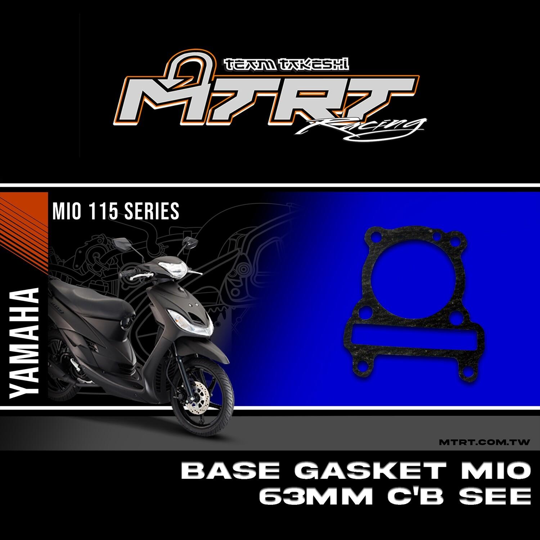 BASE GASKET MIO 63MM C-B SEE
