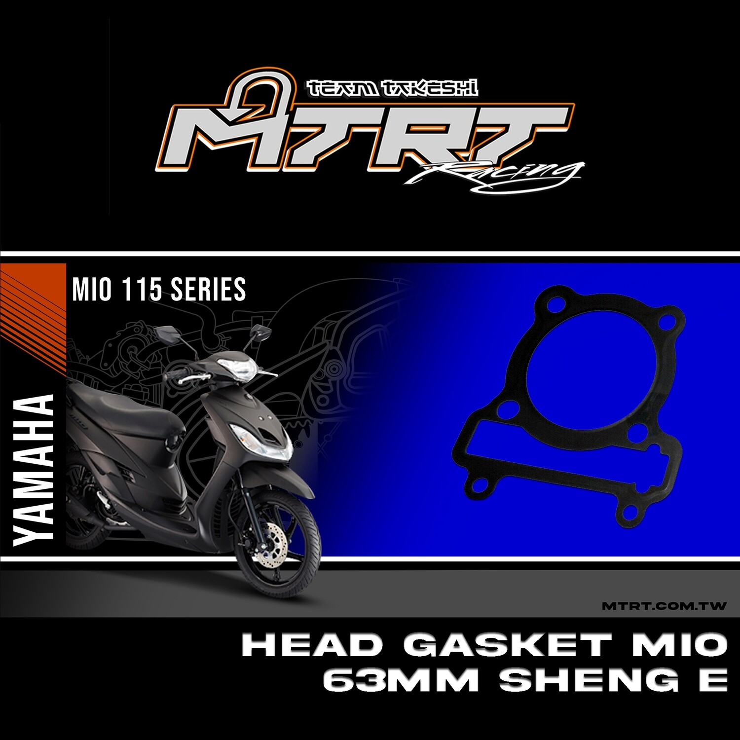 HEAD GASKET MIO 63MM SEE