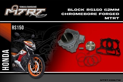 BLOCK RS150 RSONIC  62MM Chromebore Forged MTRT