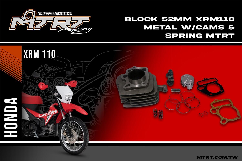 BLOCK 52MM  XRM110 METAL Semi dome   MTRT