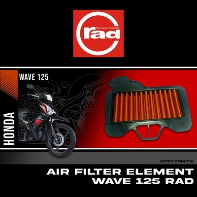 AIR FILTER Element  WAVE125  RAD M-Bf5
