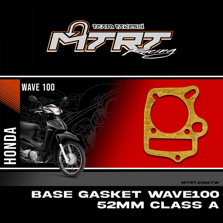 BASE GASKET WAVE100 XRM110 52MM CLASS A