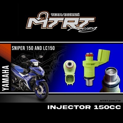 INJECTOR ONLY 6HOLES LC150/NMAX155 GREEN  150CC