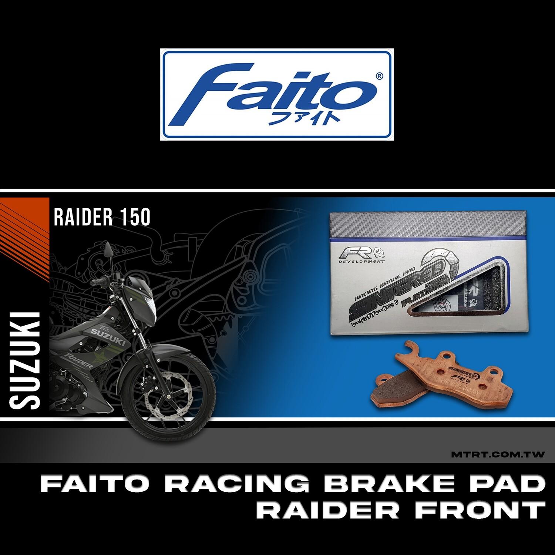 FAITO RACING BRAKE PAD FRONT (sintered)