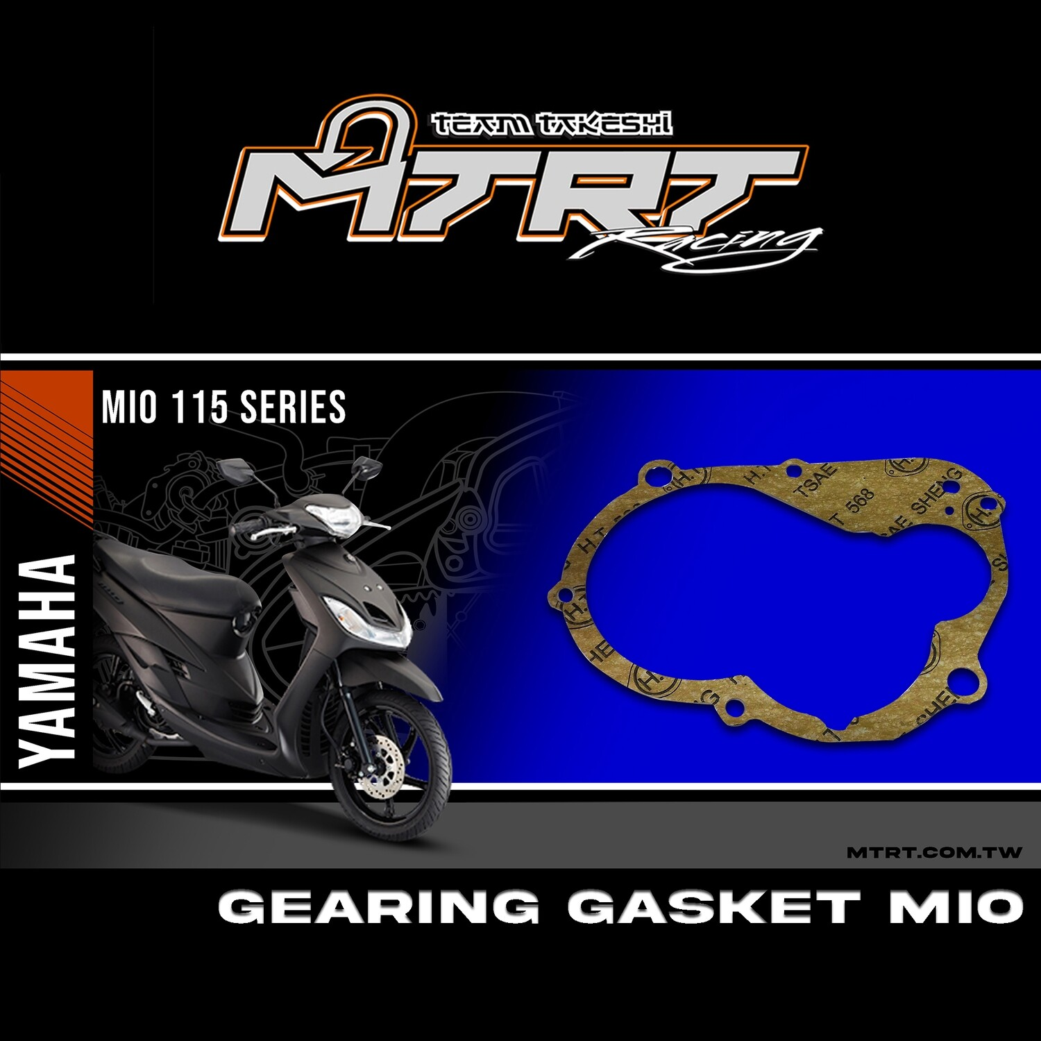 GEARING GASKET MIO SEE C'A Main