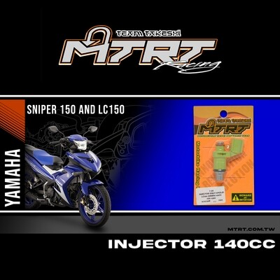 INJECTOR ONLY 6HOLES GREEN 140CC LC150/NMAX155