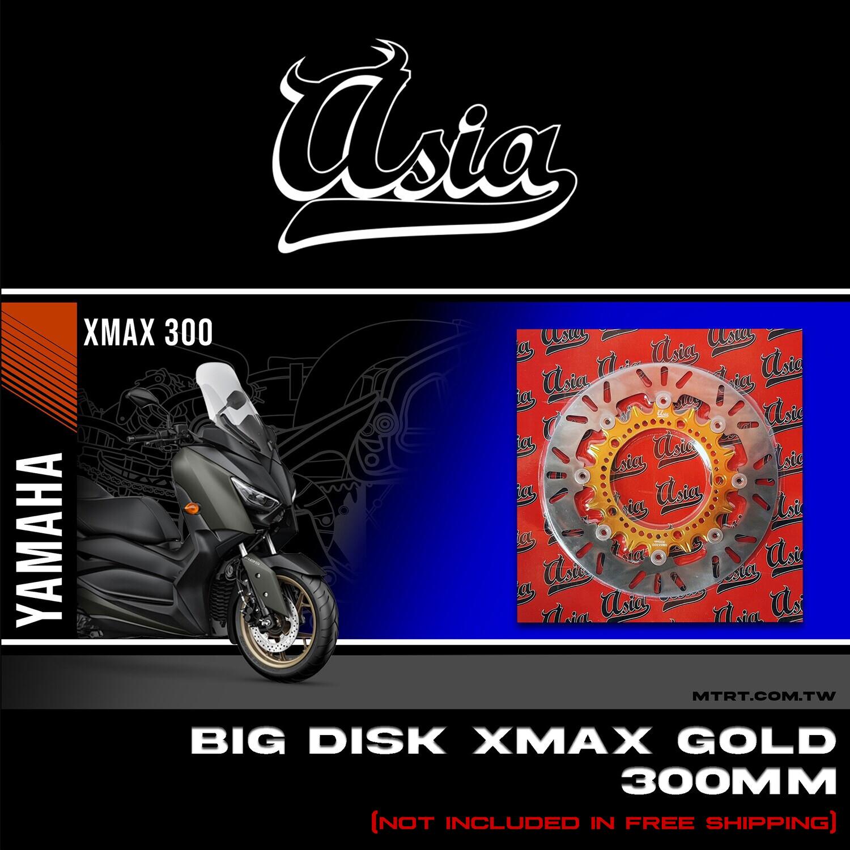 BIG DISK XMAX300 GOLD
