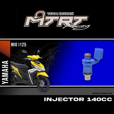 INJECTOR ONLY 4 HOLES M3 GT125 BLUE 140CC