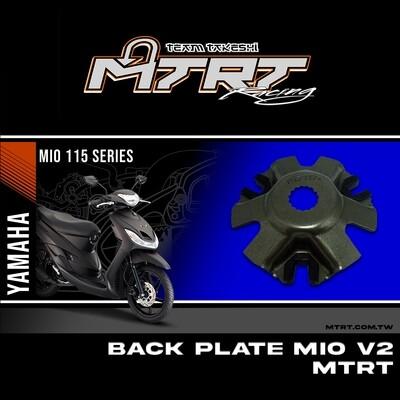BACK PLATE  MIO V2 MTRT