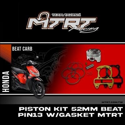 PISTON KIT  52mm BEAT PIN13  wgasket
