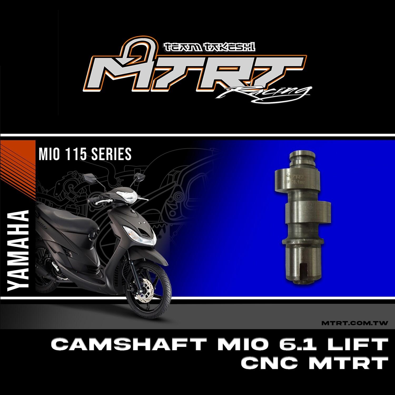 CAMSHAFT 6.1MM MIO CNC MTRT