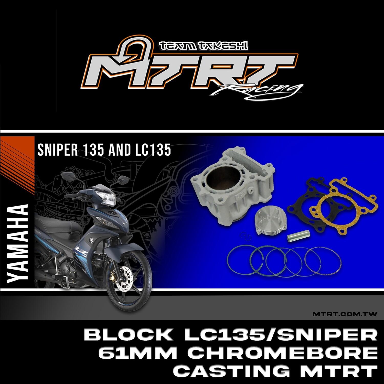 BLOCK LC135 SNIPER  61mm chromebore Casting MTRT