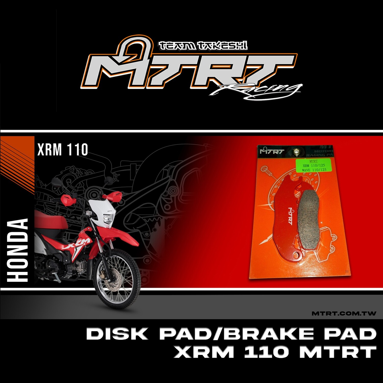 DISK PADBRAKE PAD XRM110 WAVE125 CBR150