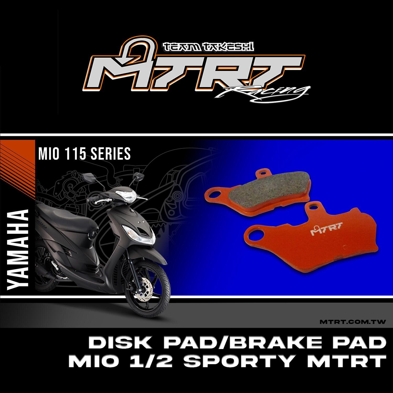 DISK PADBRAKE PAD MIO12 MTRT