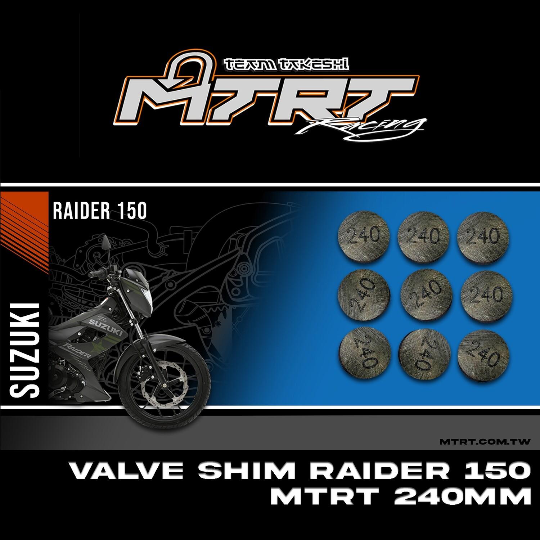 VALVE SHIM RAIDER150CBR MTRT 240mm M-Op1