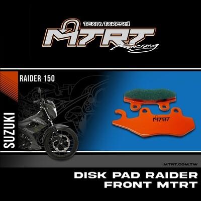 DISK PAD RAIDER FrontHayate  MTRT M-Bf3