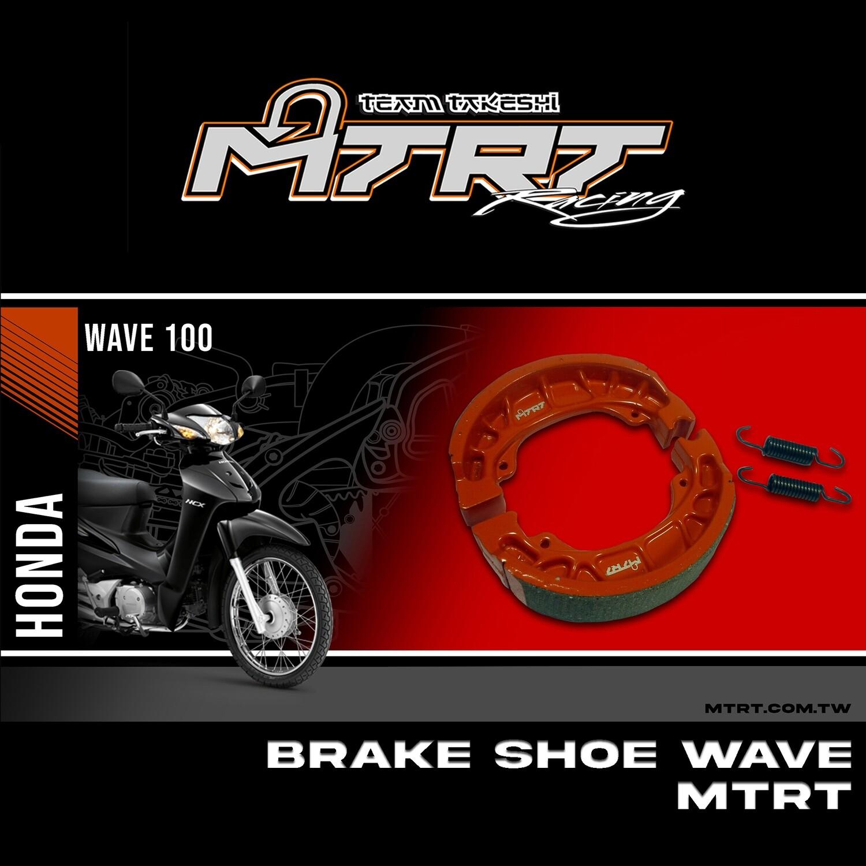 BRAKE SHOE WAVE XRM GY6  MTRT M-Bf5