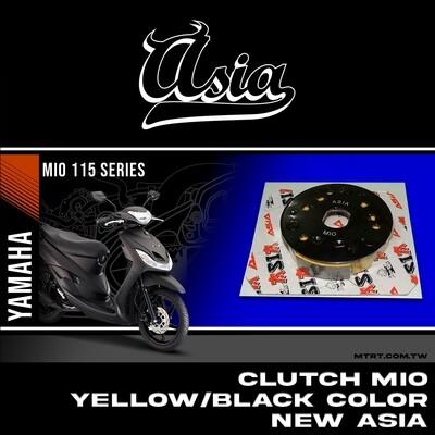 CLUTCH MIO ASIA Yellow/Black COLOR  ASIA