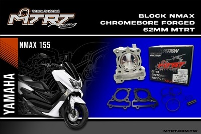 BLOCK NMAX AEROX Chromebore FORGED 62MM