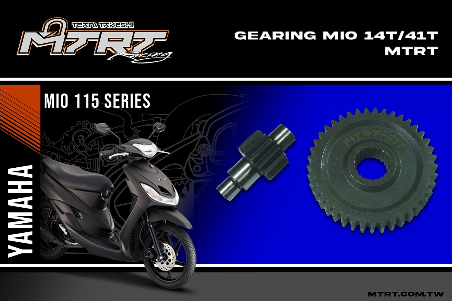 GEARING  MIO  14T/41T  MTRT