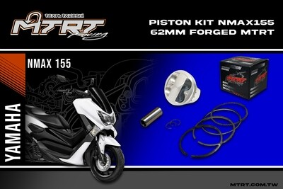 PISTON  KIT NMAX155 62MM FORGED MTRT