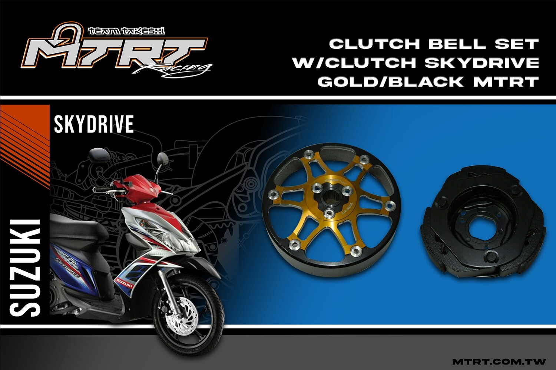 CLUTCH BELL SET wClutch SKYDRIVE GoldBlack MTRT (Arrived 21116)