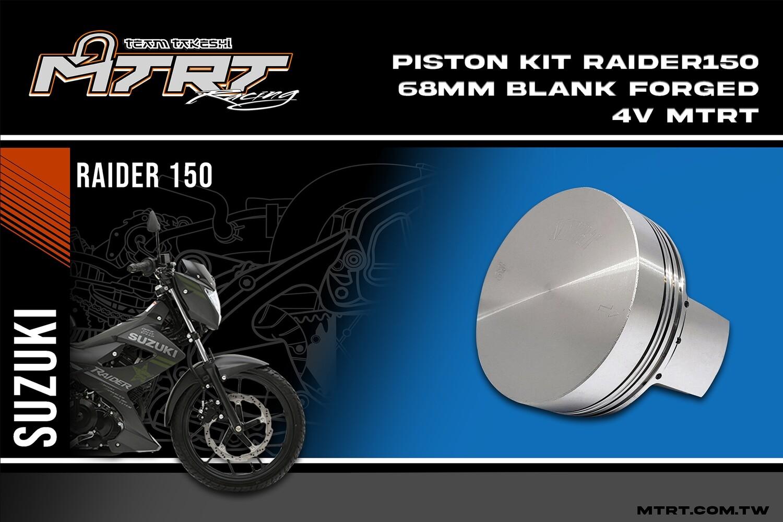 PISTON KIT 68MM Blank Forged 4V