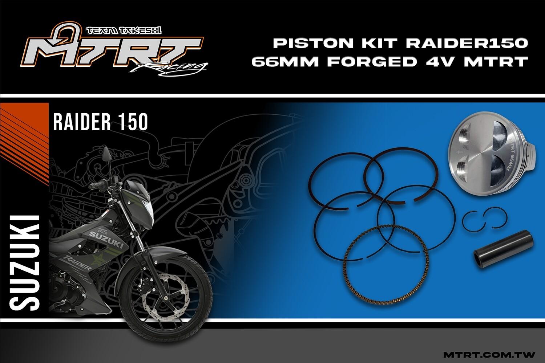 PISTON  KIT 66MM Forged  4V