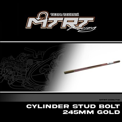 CYL. STUD BOLT  245mm GOLD