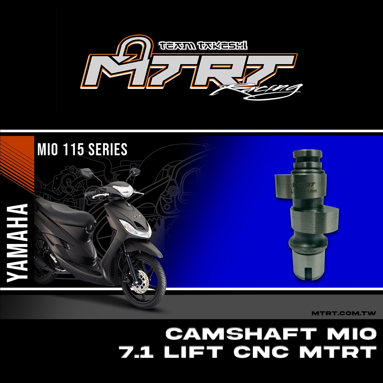 CAMSHAFT MIO 7.1 LIFT CNC MTRT