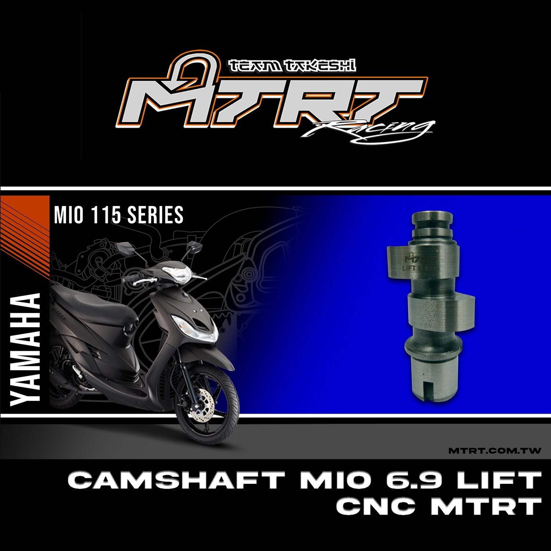 CAMSHAFT MIO 6.9 LIFT CNC MTRT