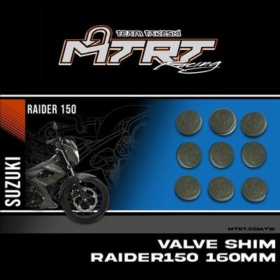 VALVE SHIM RAIDER150CBR MTRT 160mm M-Op1