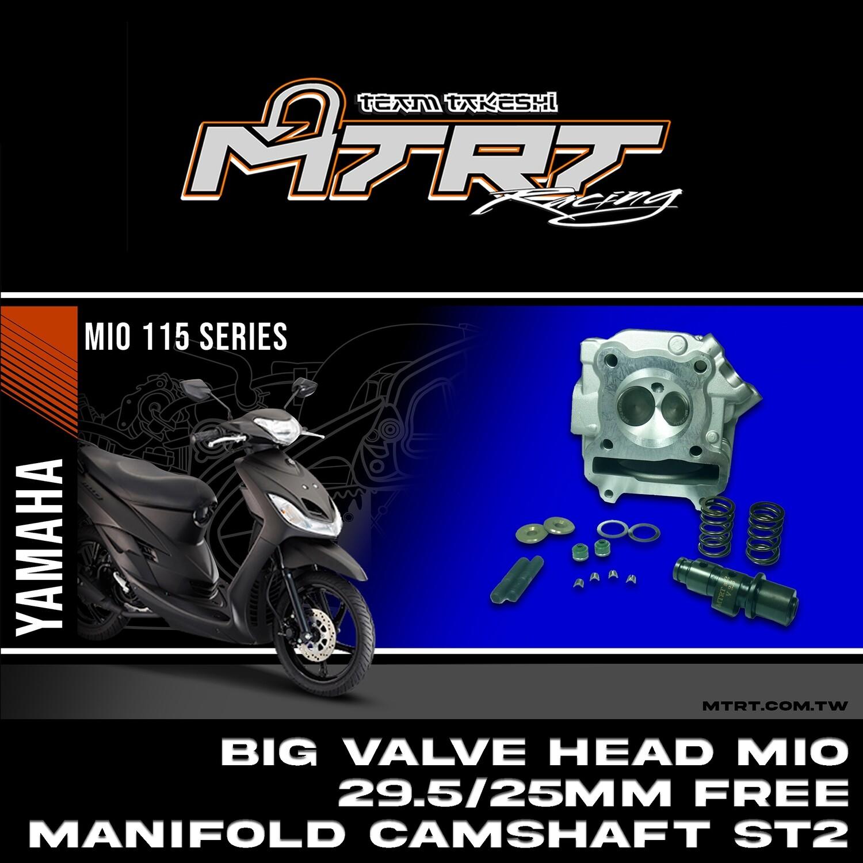 BIG VALVE HEAD MIO 29.5/25mm  (no washer) MTRT 4th  112217