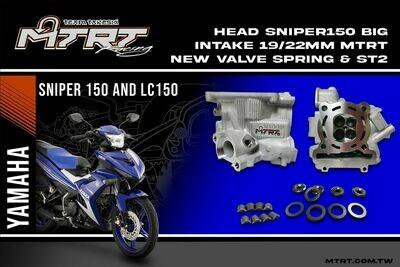 HEAD SNIPER150 big intake 19/22MM MTRT HEAD