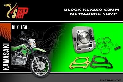 BLOCK KLX150  63MM Metal bore  YSMP